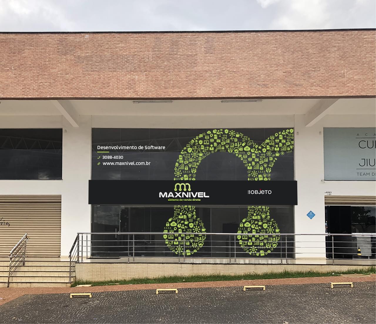 Maxnível ganha nova fachada e divide espaço com empresa parceira