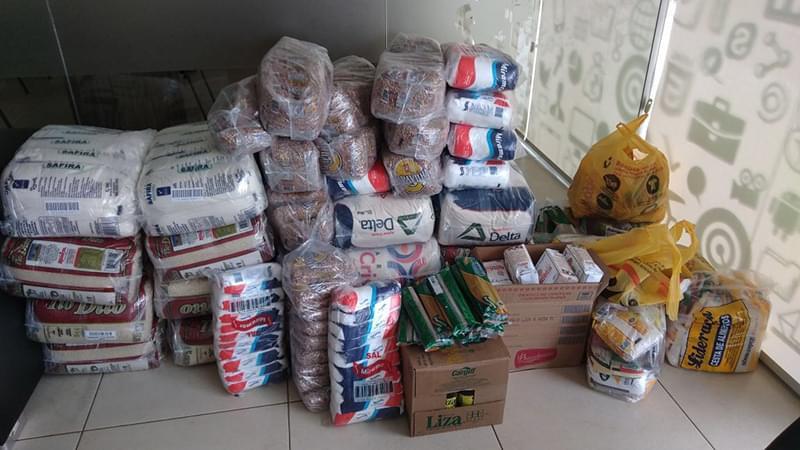 Maxnível Tecnologia e Objeto Digital realizam campanha de natal e arrecadam 80 cestas de alimentos